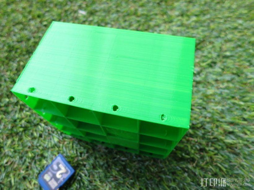 蜂巢形声音扩散器 3D模型  图12