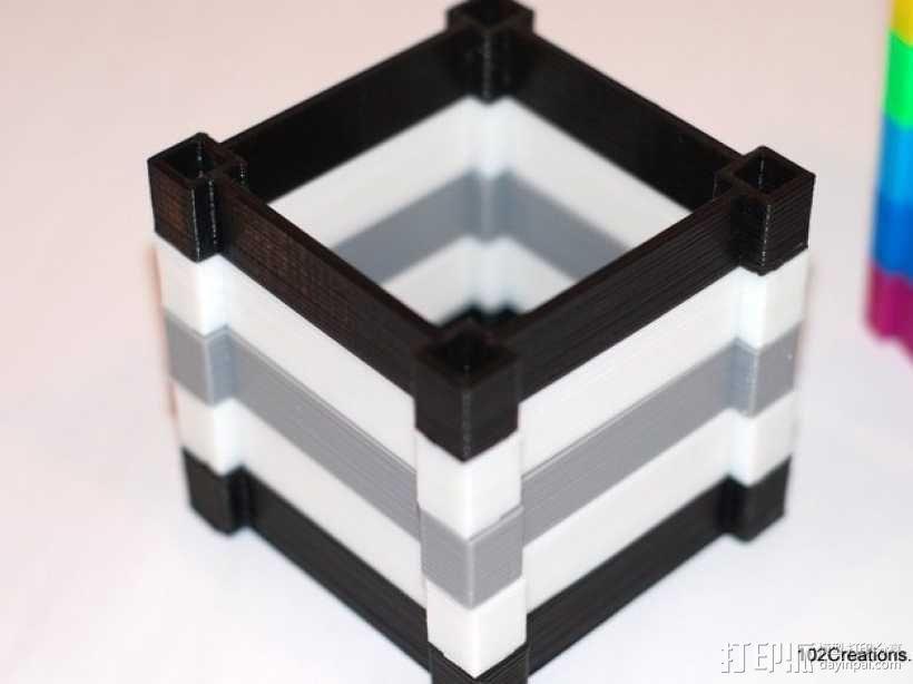 彩色多功能小盒 3D模型  图3