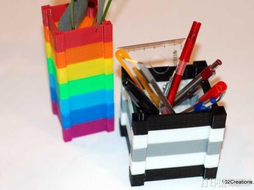 彩色多功能小盒 3D模型  图1