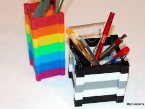 彩色多功能小盒 3D模型