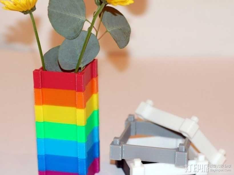 彩色多功能小盒 3D模型  图2