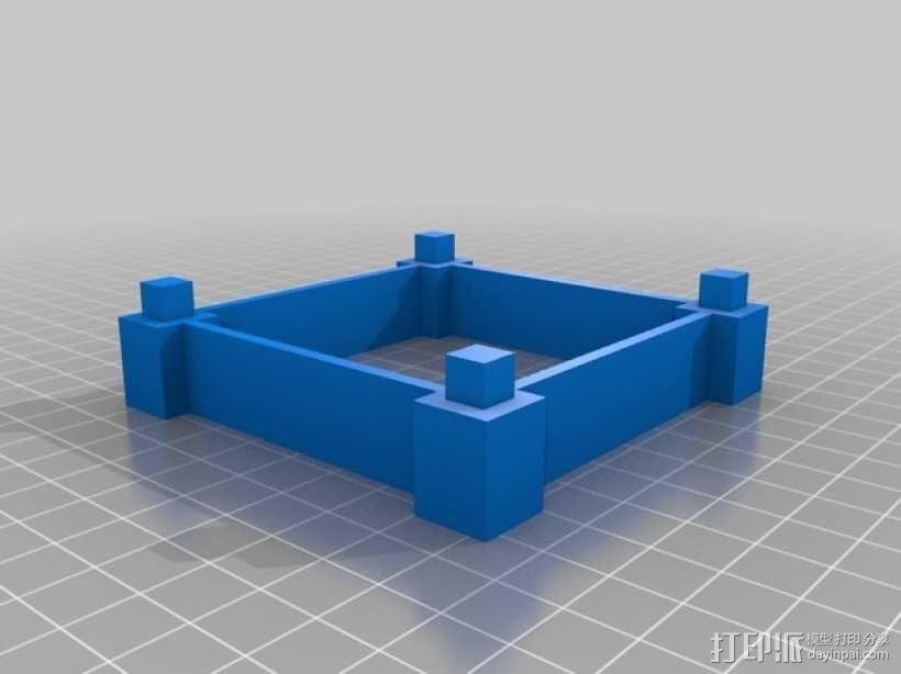 彩色多功能小盒 3D模型  图4