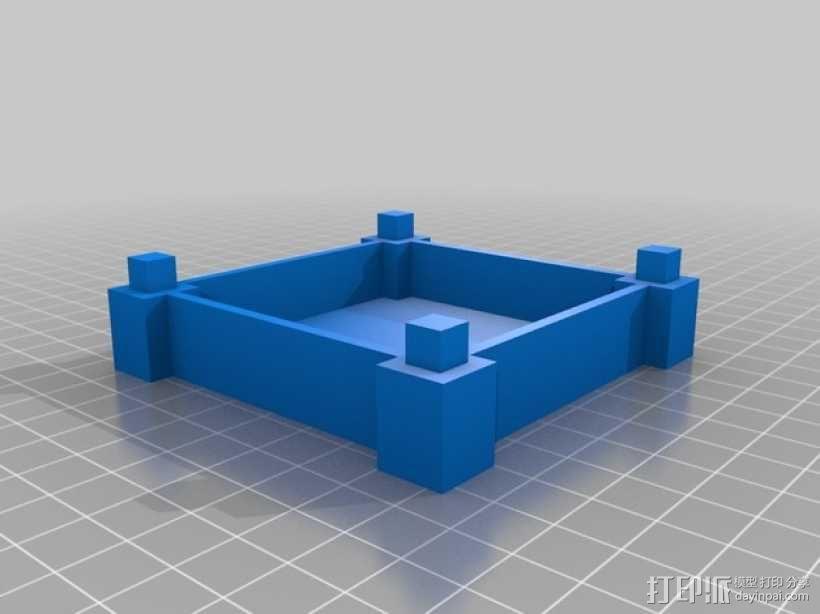 彩色多功能小盒 3D模型  图5