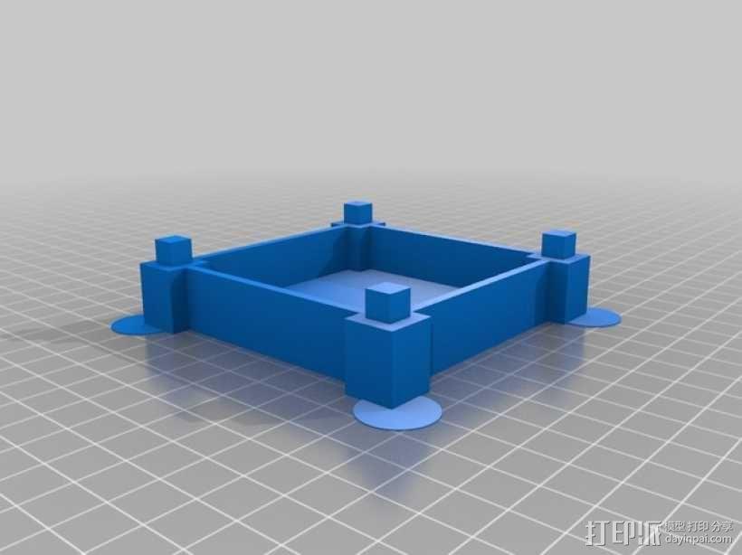 彩色多功能小盒 3D模型  图7
