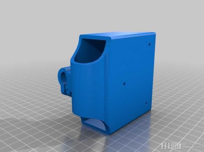 Dyson DC34真空吸尘器固定架 3D模型  图2