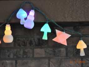 圣诞彩灯 灯罩 3D模型