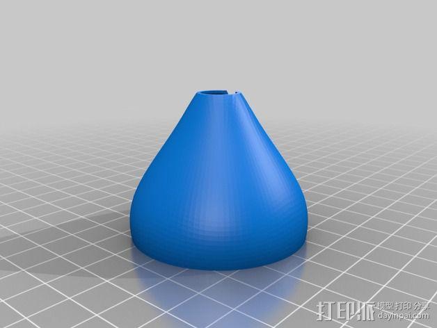 圣诞彩灯 灯罩 3D模型  图3