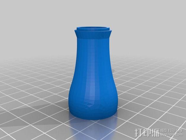 圣诞彩灯 灯罩 3D模型  图4