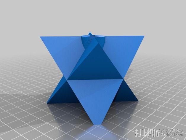 圣诞彩灯 灯罩 3D模型  图5
