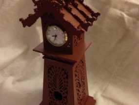 古典精美时钟 3D模型