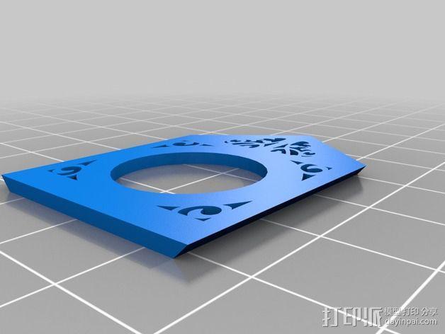 古典精美时钟 3D模型  图14