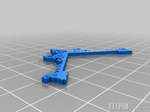 古典精美时钟 3D模型  图17