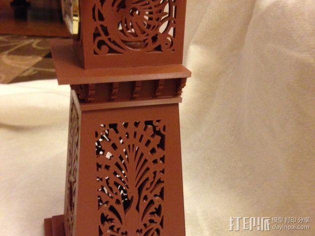 古典精美时钟 3D模型  图25
