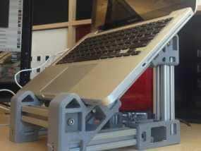 笔记本电脑支架  3D模型