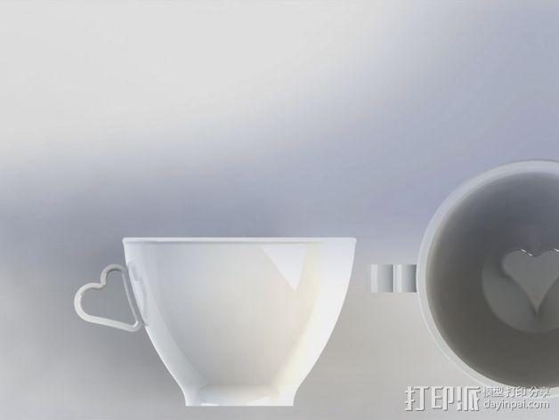 迷你可爱咖啡杯 3D模型  图7