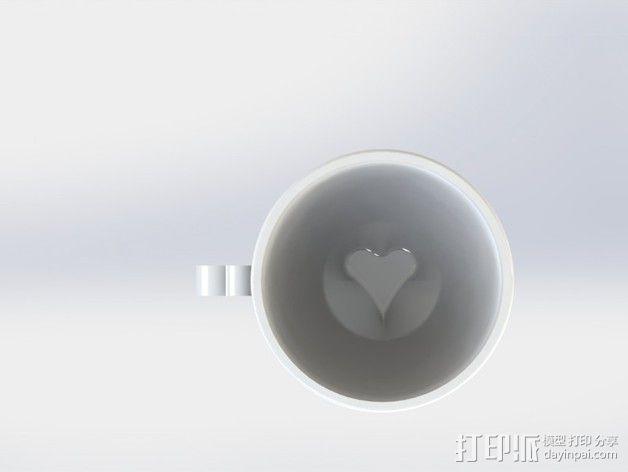 迷你可爱咖啡杯 3D模型  图5