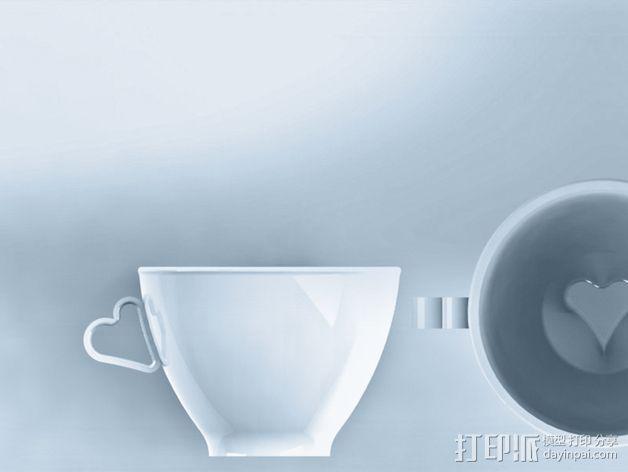 迷你可爱咖啡杯 3D模型  图8