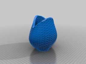 美人鱼花瓶 3D模型