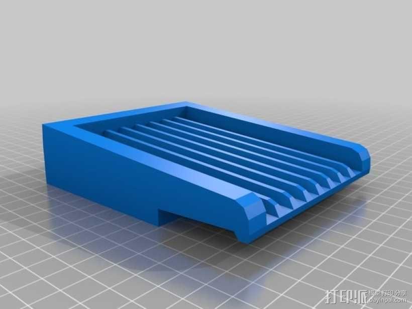 海绵晾置架 3D模型  图2