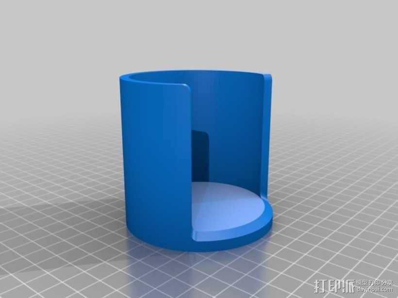 爱乐压咖啡滤纸架 3D模型  图2