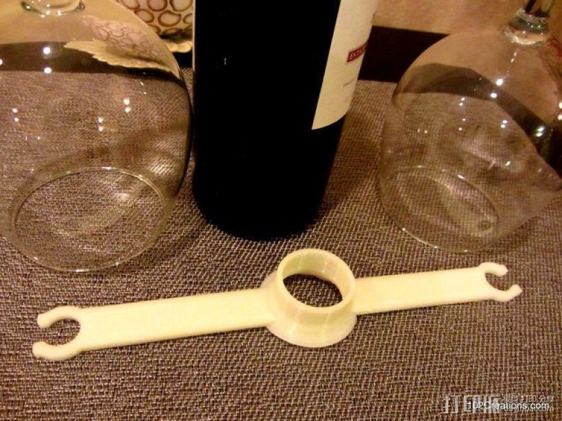 酒杯架 3D模型  图1