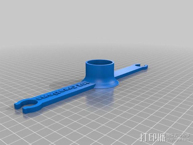 酒杯架 3D模型  图3
