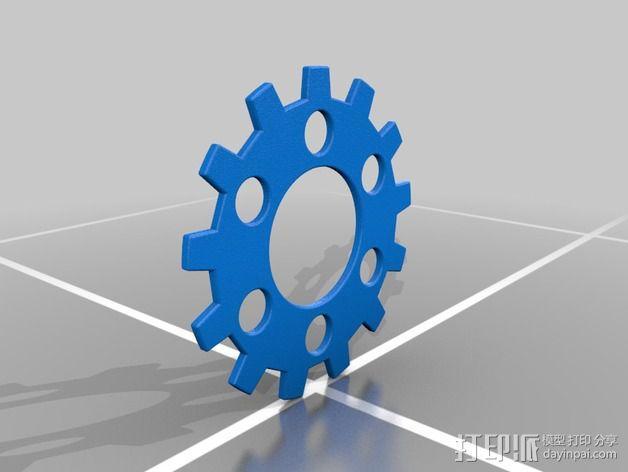 滤茶器 3D模型  图2