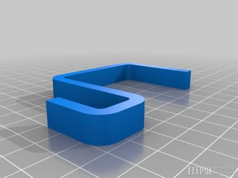 沐浴球挂钩 3D模型  图2