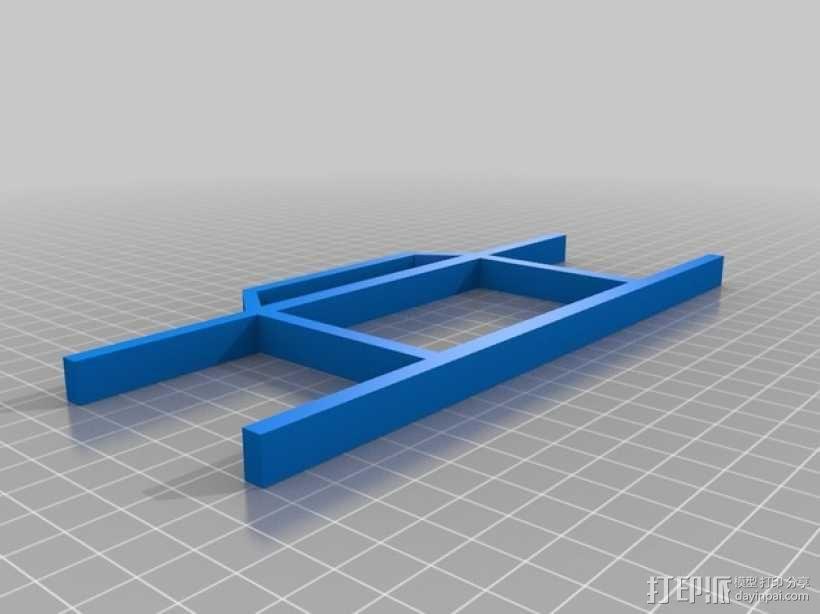 简易线轴 3D模型  图3