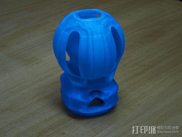 灯罩 3D模型  图4