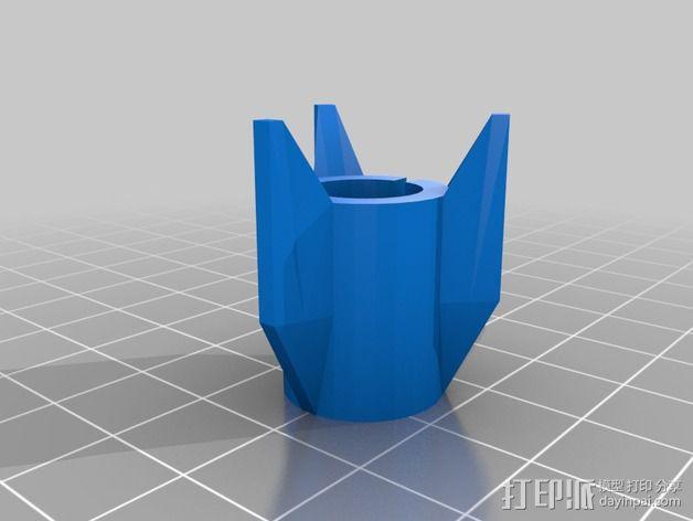 费舍尔太空笔笔筒 3D模型  图2