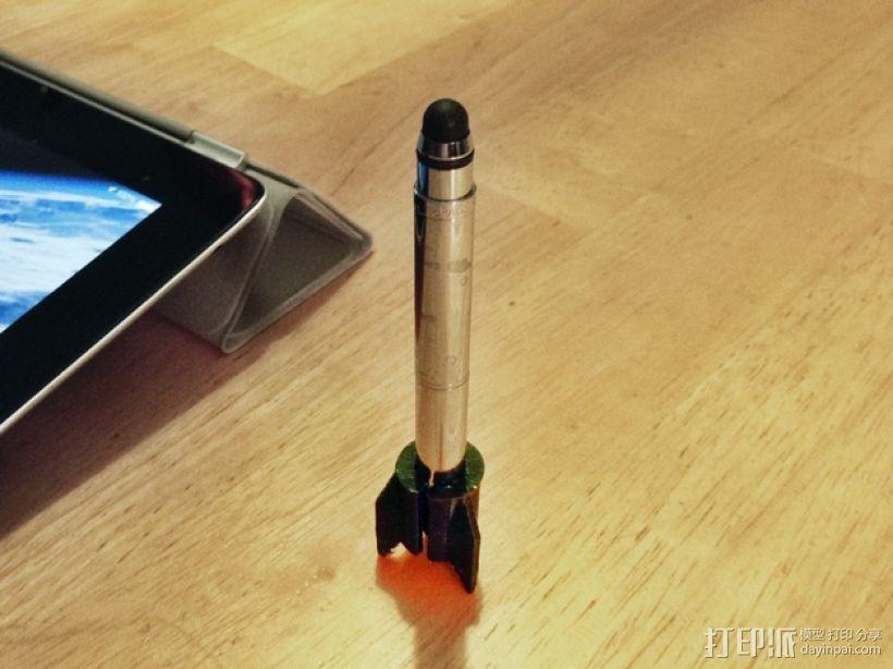 费舍尔太空笔笔筒 3D模型  图1