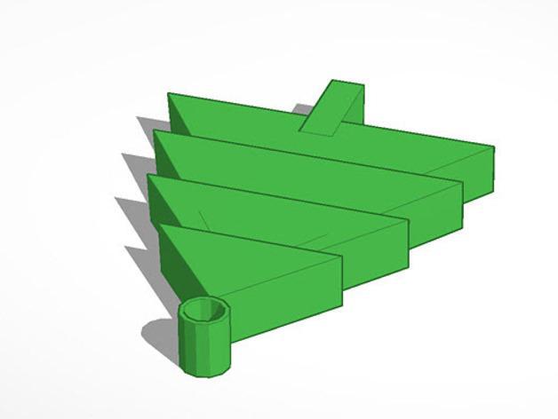 迷你圣诞树 3D模型  图3