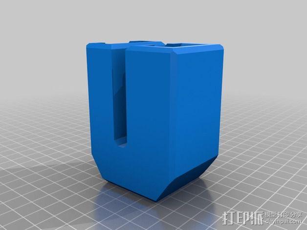 订书机配适器 3D模型  图2