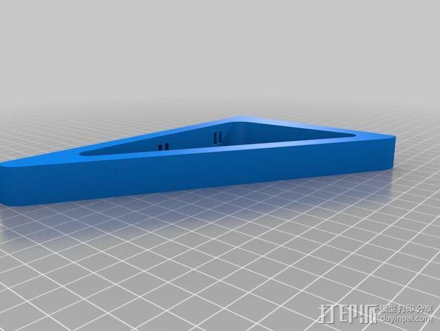 三角支架 3D模型  图1