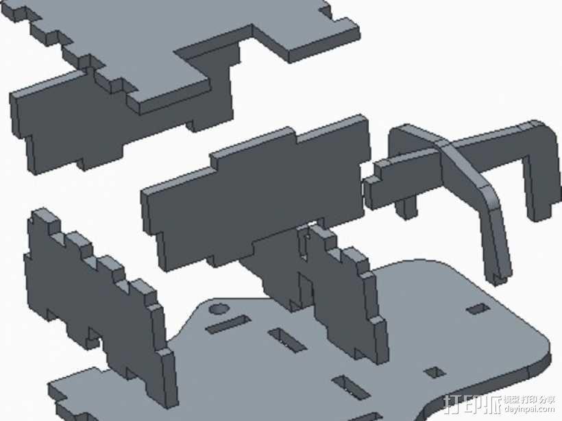 宜家LED电源保护壳 3D模型  图3