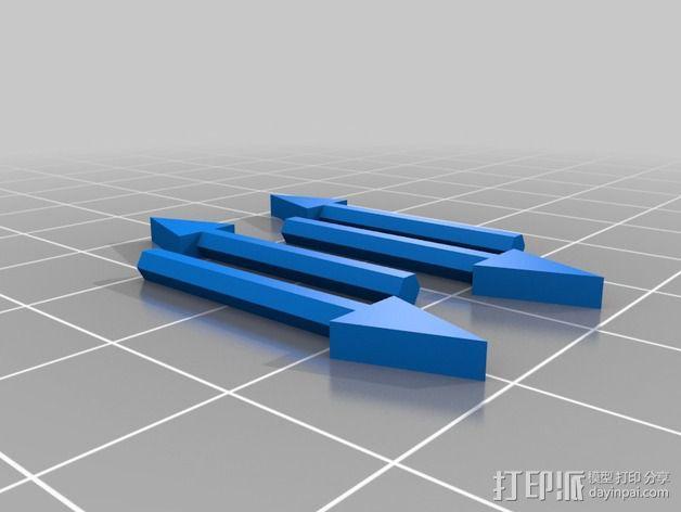 南瓜 牙齿 3D模型  图9