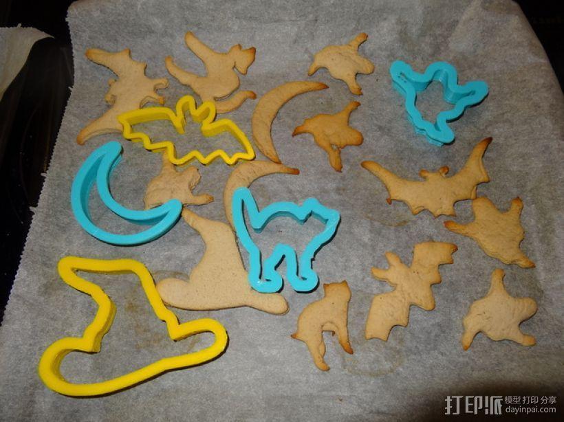 万圣节饼干制作模具 3D模型  图1
