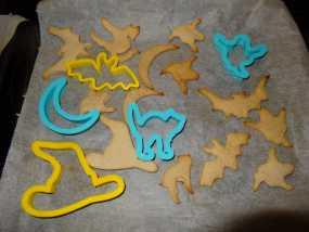万圣节饼干制作模具 3D模型