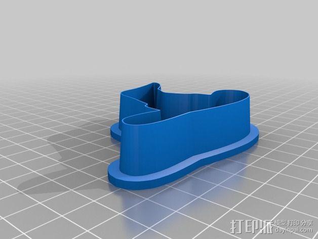 万圣节饼干制作模具 3D模型  图6