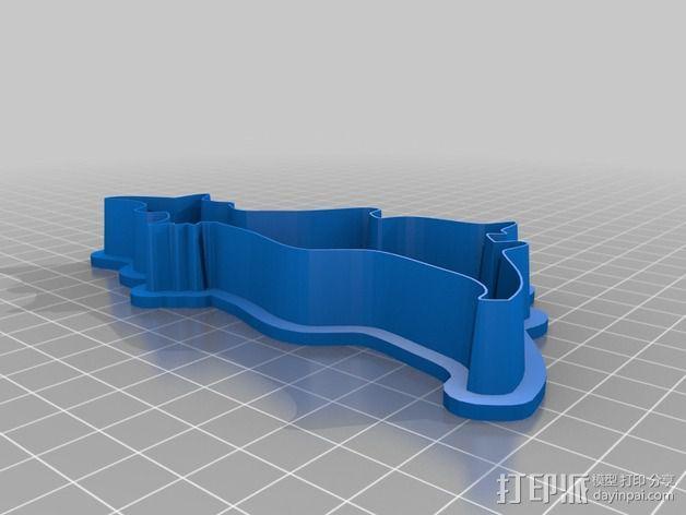 万圣节饼干制作模具 3D模型  图5