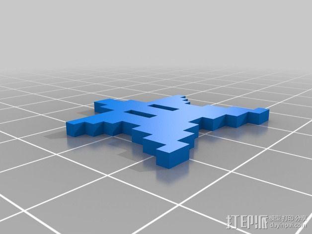 星星人 3D模型  图4