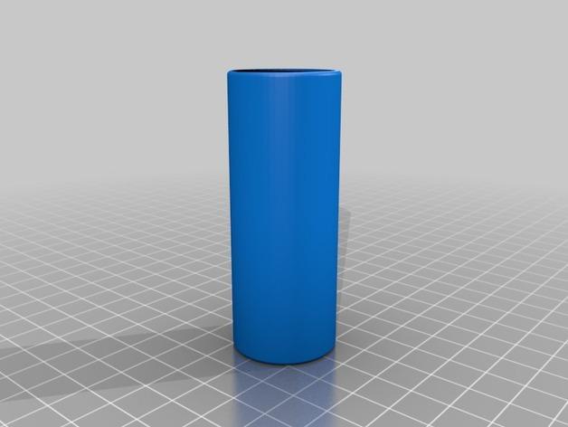 硬币存放筒 3D模型  图2