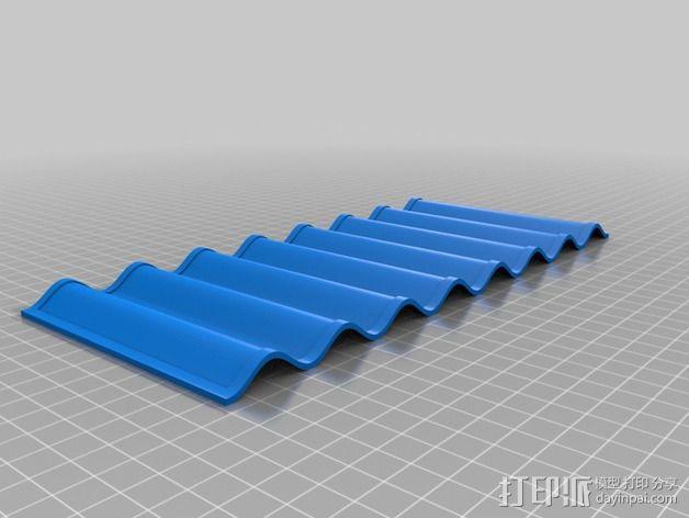 饼干盘 3D模型  图2