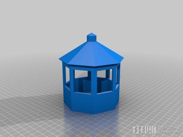 灯塔 3D模型  图4