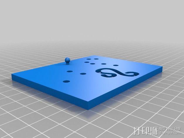 生肖LED盒 3D模型  图2
