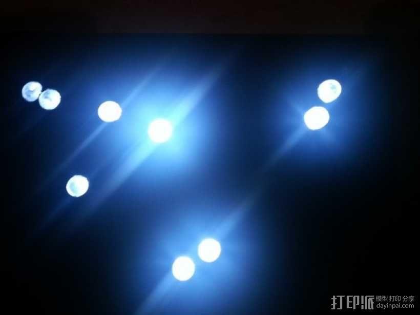 生肖LED盒 3D模型  图1