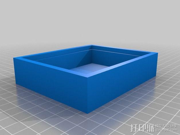 生肖LED盒 3D模型  图3
