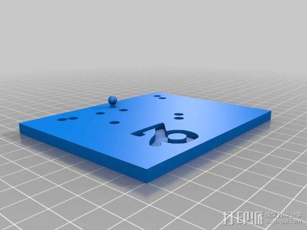 生肖LED盒 3D模型  图5