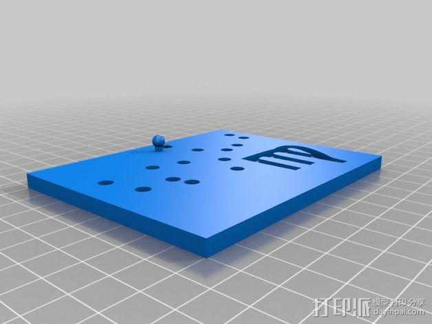 生肖LED盒 3D模型  图7